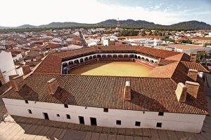 Almadén Plaza de toros hexagonal año 1765