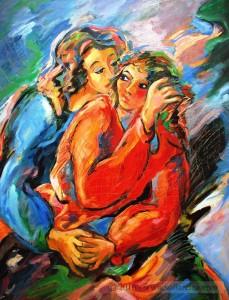 Maternidades Dos figuras