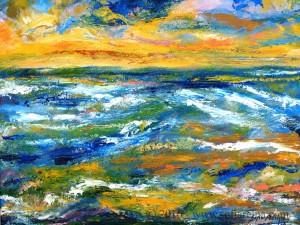 Paisajes Marina O./L. 46 x 38