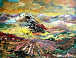 Paisajes Primavera O./L. 46 x 38