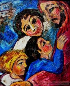 Jesus un acto de amor Jesús y los niños