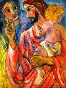 Jesus un acto de amor Haceos como niños