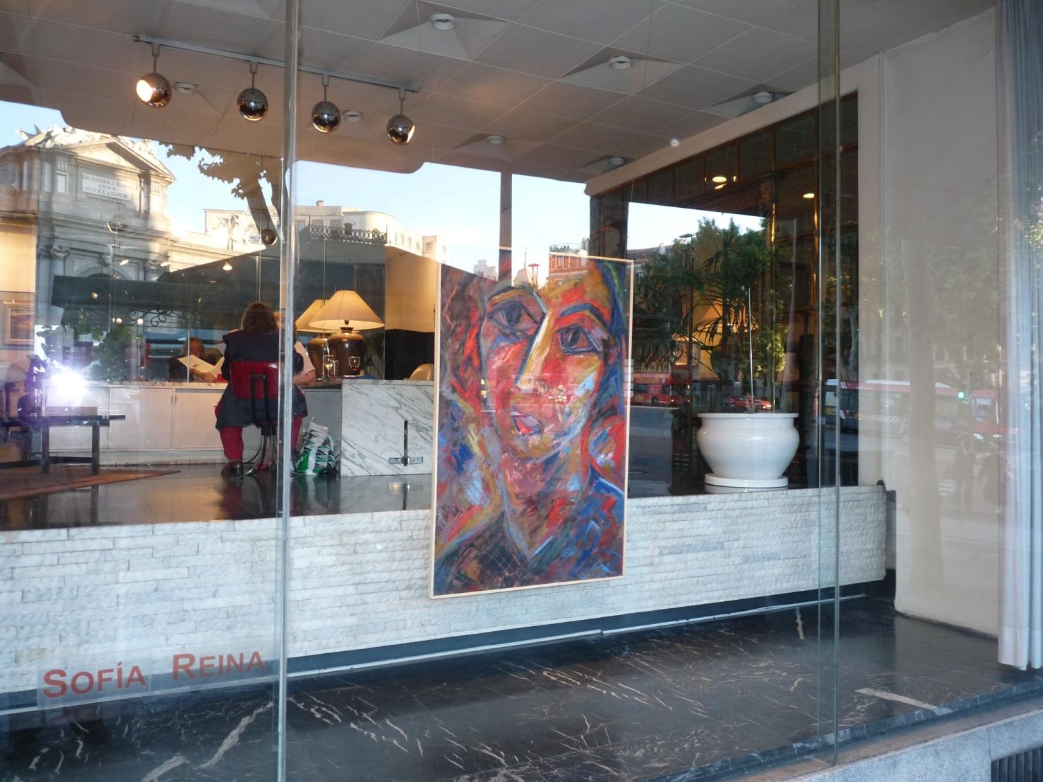 Galeria Rafael Garcia vista calle